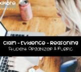 Claim Evidence Reasoning Scientific Argumentation Organize