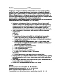 Rubric Classified Ad for Hiring for a Job -Saber Conocer Commands Spanish