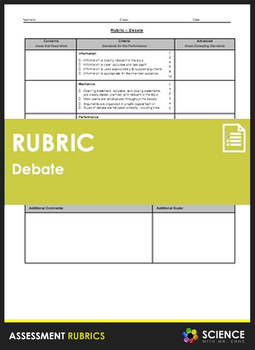 Rubric - Debate (Single Point)