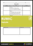 Rubric - Debate (Single Point)