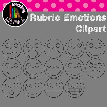 Rubric Emotions Clipart