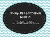 Rubric: Group Presentation