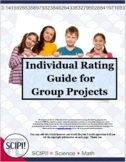 Individual Rating Guide/Rubric for Students Doing Group Work
