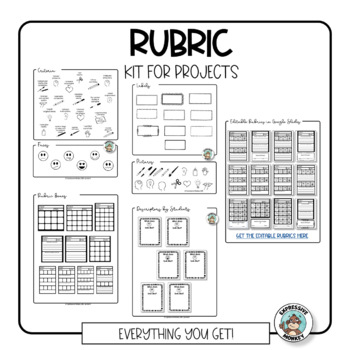 Art Rubric Kit for Projects