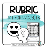 Rubric Template Kit for Writing Rubrics