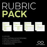 Rubric Pack