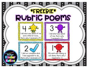 Rubric Poems