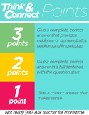 Rubric Points Poster - Works for ANY Subject