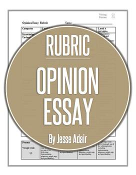 Rubric: An Opinion Essay