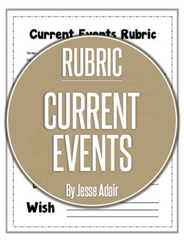 Rubric: Current Events