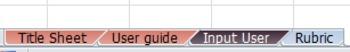 The Essential Printable Rubric Tool: 6 Column Headers & 3 Grading Categories