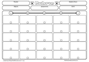 Rubric Templates (Editable)
