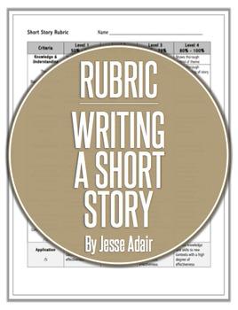 Rubric: Writing A Short Story