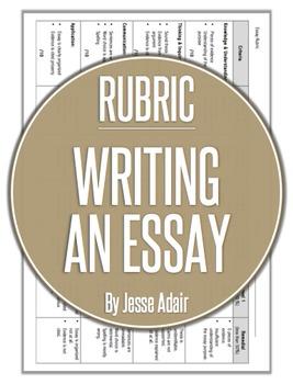 Rubric: Writing An Essay