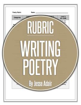 Rubric: Writing Poetry