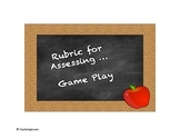 Rubric for Assessing Math Game Play
