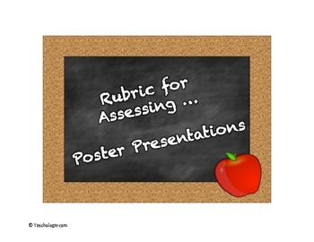 Rubric for Assessing a Poster Presentation