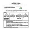 Rubric for Math Standard M.6.EE.1 and MP.2