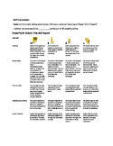 Rubric for Power Point - First Aid