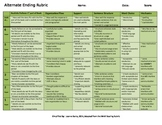 Editable Rubric for Writing an Alternate Ending to a Story