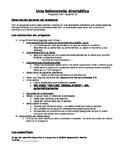 Rubric for a Telenovela Spanish 4, AP Spanish or IB Spanis
