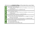 Rubric of Understanding/Effort - Executive Functioning