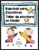 Rubrica de escritura/ writing