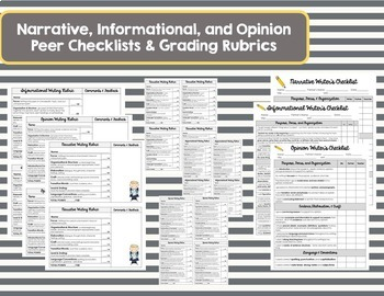 Rubrics, Charts, & Checklists, OH MY!