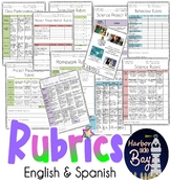 Rubrics/ Rubricas - Science and other General Rubrics ( English & Espanol)