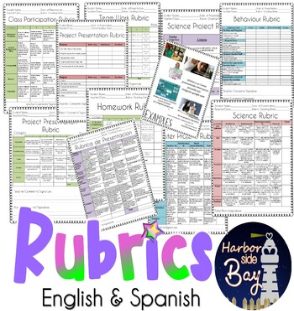 Rubrics/ Rubricas - Science and other General Rubrics ( En