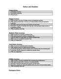 Rubrics and Checklists for the General Music Teacher