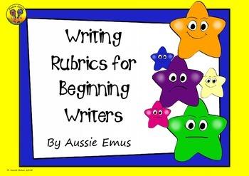 Rubrics for Beginning Writers