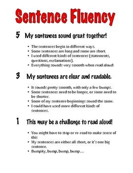 Rubrics for Six Traits of Writing