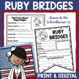 Ruby Bridges Biography Activities | Easel Activity Distance Learning