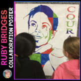 Ruby Bridges Collaboration Poster - Great Women's History Month Activity