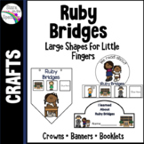Ruby Bridges Craft - Crowns, Banners and Booklet