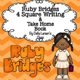 Ruby Bridges 4 Square Writing & Take Home Book