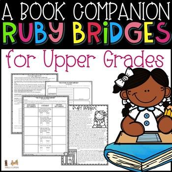 Ruby Bridges- A Book Companion & Non-fiction Reading Passage