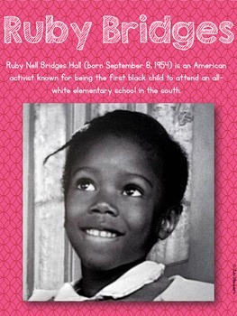 Ruby Bridges: A Non-Fiction Close Reading Resource