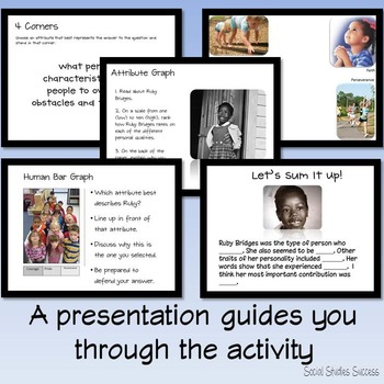 Ruby Bridges Reading Activity