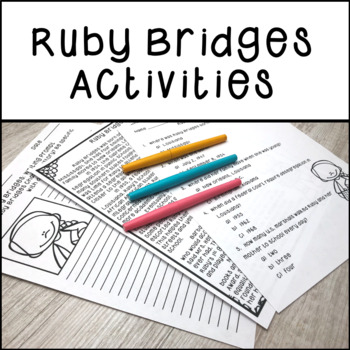 Ruby Bridges Activities | Distance Learning
