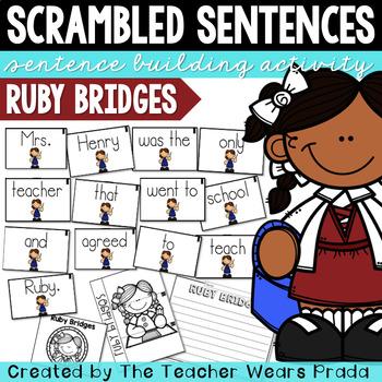 Ruby Bridges Activity   Building Sentences   Scrambled Sentences