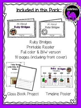 Ruby Bridges Activity Pack