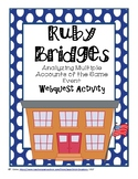 Ruby Bridges: Analyzing Multiple Accounts of the Same Event Webquest