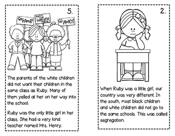 Ruby Bridges Biography Pack