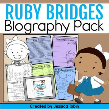 Ruby Bridges Biography Pack