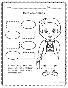 Ruby Bridges Biography Research, Civil Rights, Black History Month