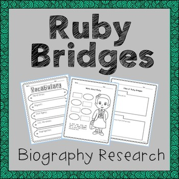 Ruby Bridges Biography Research, Civil Rights, Black Histo
