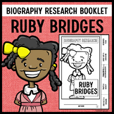 Ruby Bridges Biography Research Booklet