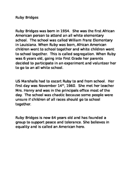 Ruby Bridges Timeline Pictures To Pin On Pinterest Thepinsta